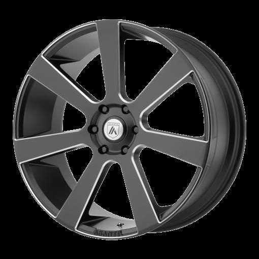 Asanti Black Custom Wheels ABL-15 BLACK MILLED