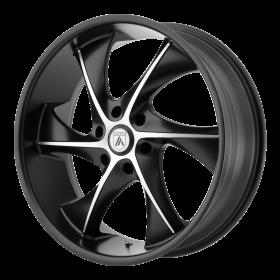 Asanti Black Custom Wheels ABL-17 MACHINED BLACK
