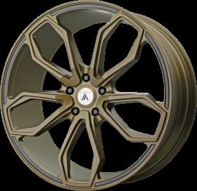 Asanti Black Custom Wheels ABL-19 ATHENA BRONZE