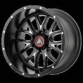 Asanti Off Road Custom Wheels AB807 CARBINE BLACK MILLED