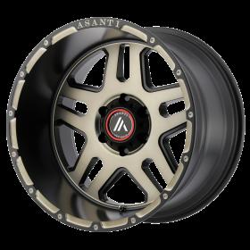 Asanti Off Road Custom Wheels AB809 MACHINED TINTED