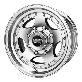 American Racing Custom Wheels AR23 MACHINED