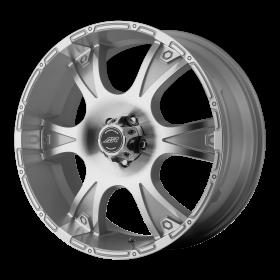 American Racing Custom Wheels AR889 DAGGER MACHINED SILVER