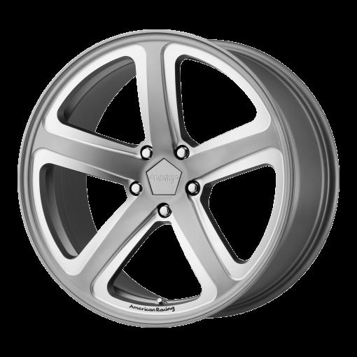 American Racing Custom Wheels AR922 HOT LAP GRAY MILLED