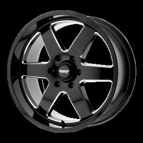 American Racing Custom Wheels AR926 PATROL BLACK MILLED