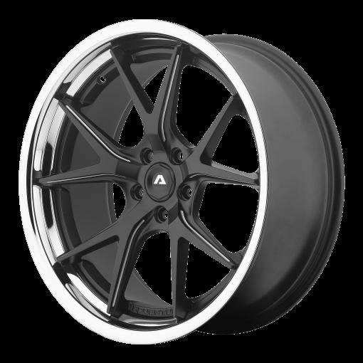 Adventus Custom Wheels AVS-3 BLACK MILLED SS
