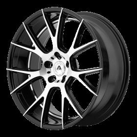 Adventus Custom Wheels AVX-7 MACHINED BLACK