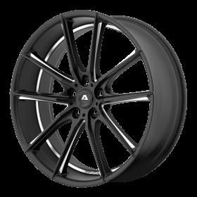 Adventus Custom Wheels AVX-10 BLACK MILLED
