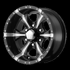 HELO Custom Wheels HE791 MAXX BLACK MILLED