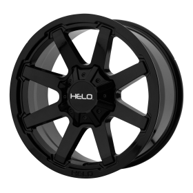 HELO Custom Wheels HE909 BLACK