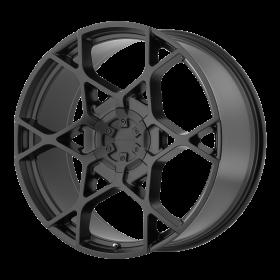 KMC Custom Wheels KM695 CROSSHAIR BLACK
