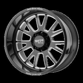 Moto Metal Custom Wheels MO401 BLACK MILLED