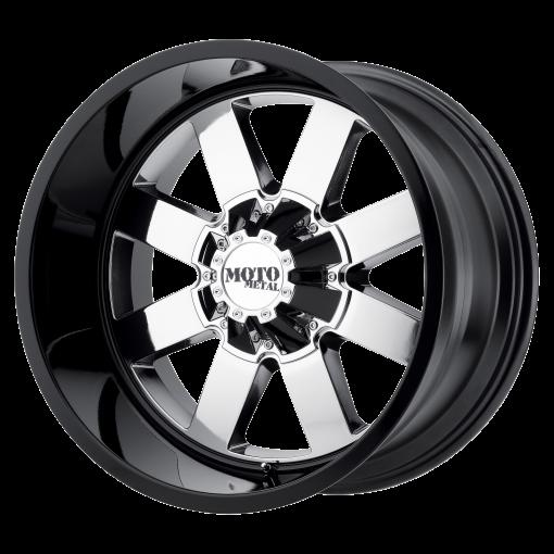Moto Metal Custom Wheels MO962 CHROME PVD BLACK
