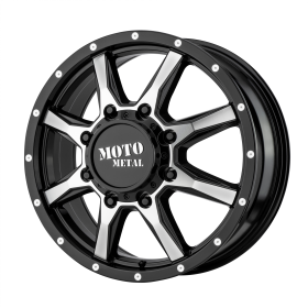 Moto Metal Custom Wheels MO995 MACHINED BLACK