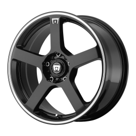 Motegi Custom Wheels MR116 BLACK MACHINED