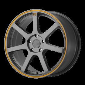 Motegi Custom Wheels MR132 GRAY ORANGE