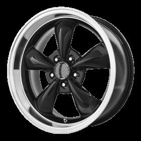 OE Creations Custom Wheels PR106 BLACK MACHINED