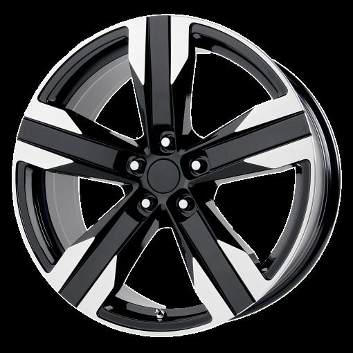 OE Creations Wheels PR135 GLOSS BLACK MACHINED