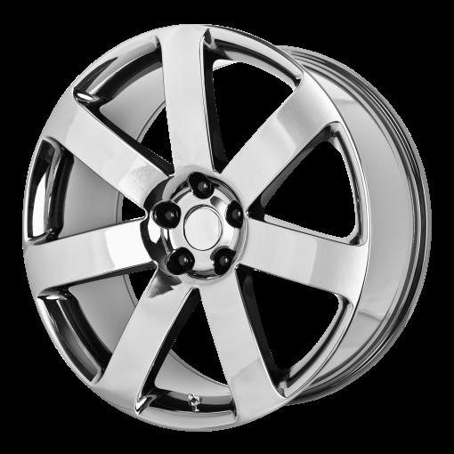 OE Creations Wheels PR138 BLACK CHROME PVD