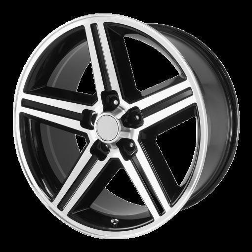 OE Creations Wheels PR148 GLOSS BLACK MACHINED