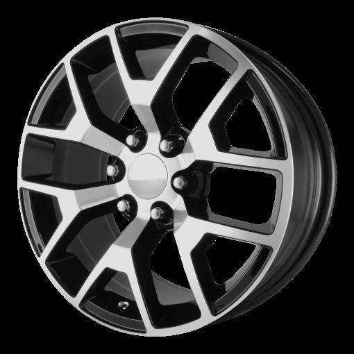 OE Creations Wheels PR150 GLOSS BLACK MACHINED