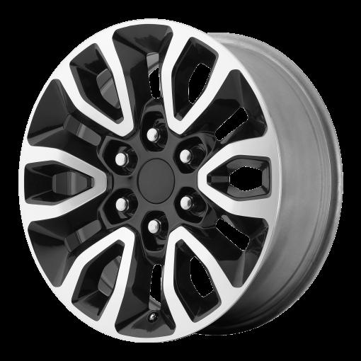 OE Creations Wheels PR151 GLOSS BLACK MACHINED