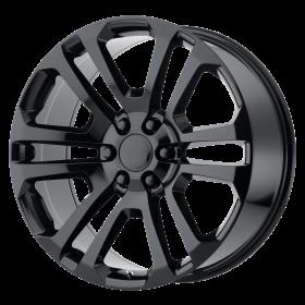 OE Creations Custom Wheels PR158 BLACK