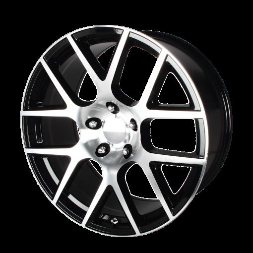 OE Creations Wheels PR163 GLOSS BLACK MACHINED