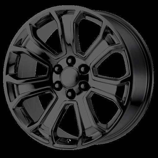 OE Creations Wheels PR166 GLOSS BLACK