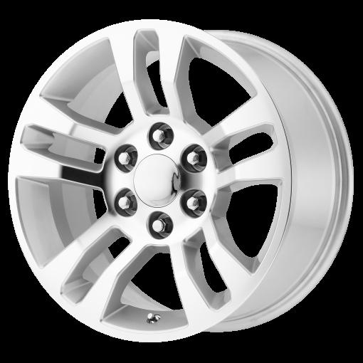 OE Creations Wheels PR175 Silver Machined