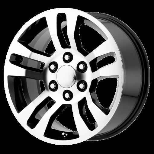 OE Creations Wheels PR175 GLOSS BLACK MACHINED