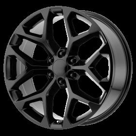 OE Creations Custom Wheels PR176 BLACK