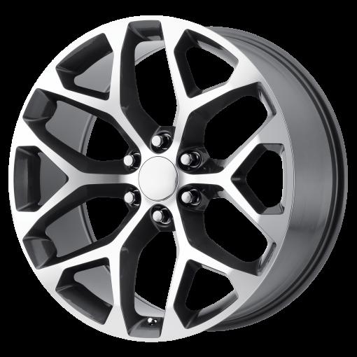 OE Creations Wheels PR176 Gunmetal Machined