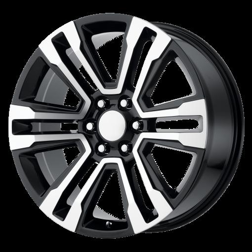OE Creations Custom Wheels PR182 MACHINED BLACK
