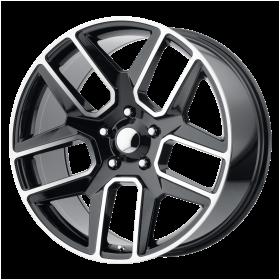 OE Creations Custom Wheels PR192 BLACK