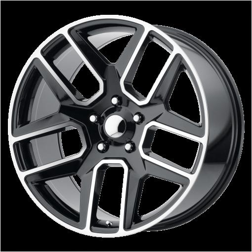 OE Creations Custom Wheels PR192 MACHINED BLACK