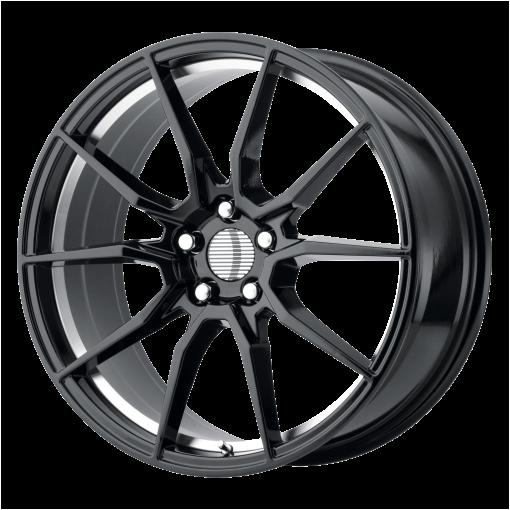 OE Creations Wheels PR193 GLOSS BLACK MACHINED