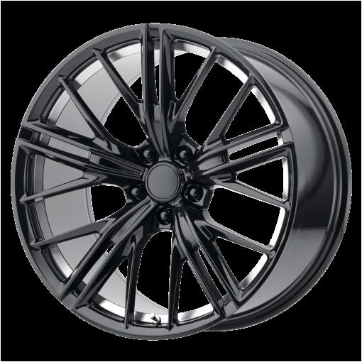 OE Creations Custom Wheels PR194 MACHINED BLACK