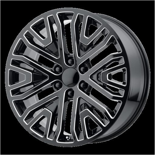 OE Creations Wheels PR197 GLOSS BLACK MILLED