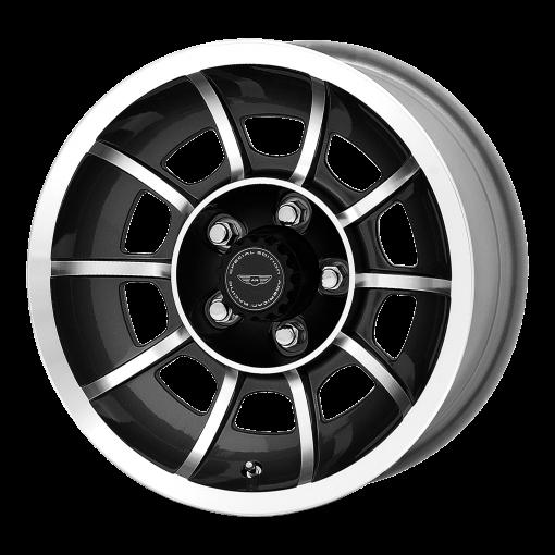 American Racing Custom Wheels VN47 VECTOR MACHINED BLACK