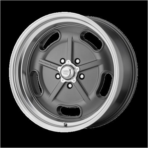 American Racing Custom Wheels VN511 SALT FLAT GRAY DIAMOND
