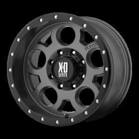 XD Series Custom Wheels XD126 ENDURO PRO GRAY BLACK