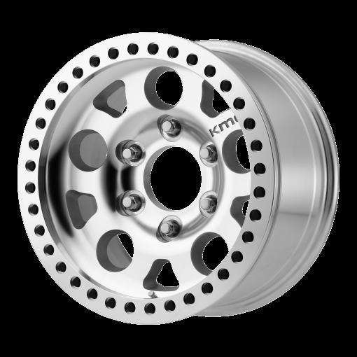 XD Series Custom Wheels XD222 ENDURO BEADLOCK MACHINED