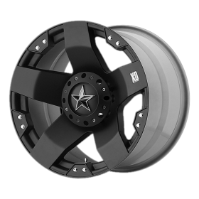 XD Series Custom Wheels XD775 ROCKSTAR BLACK
