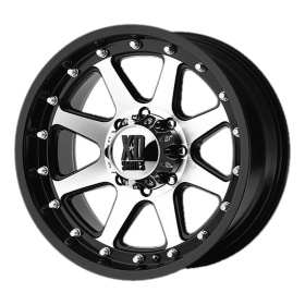 XD Series Custom Wheels XD798 ADDICT MACHINED BLACK
