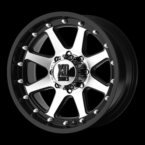 XD Series Custom Wheels XD798 ADDICT MACHINED BLACK