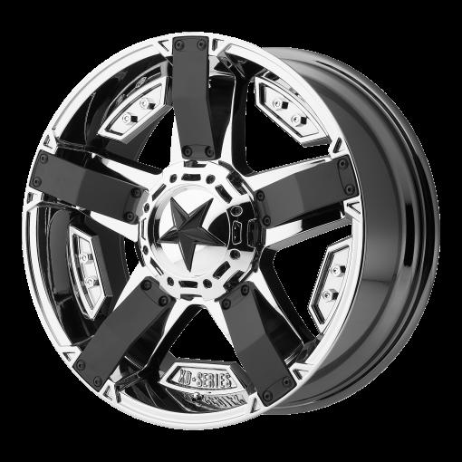 XD Series Custom Wheels XD811 ROCKSTAR II CHROME PVD BLACK