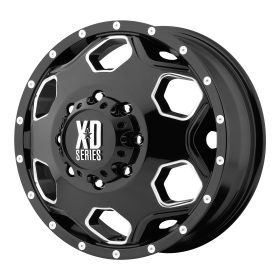 XD Series Wheels XD815 BATALLION BLACK MILLED