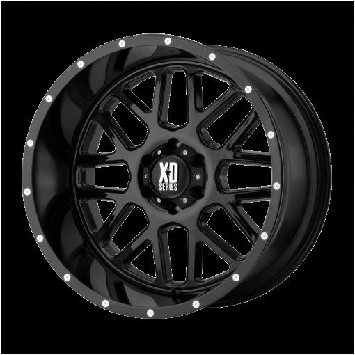 XD Series Custom Wheels XD820 GRENADE BLACK