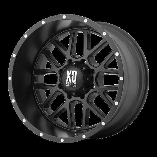 XD Series Wheels XD820 GRENADE SATIN BLACK